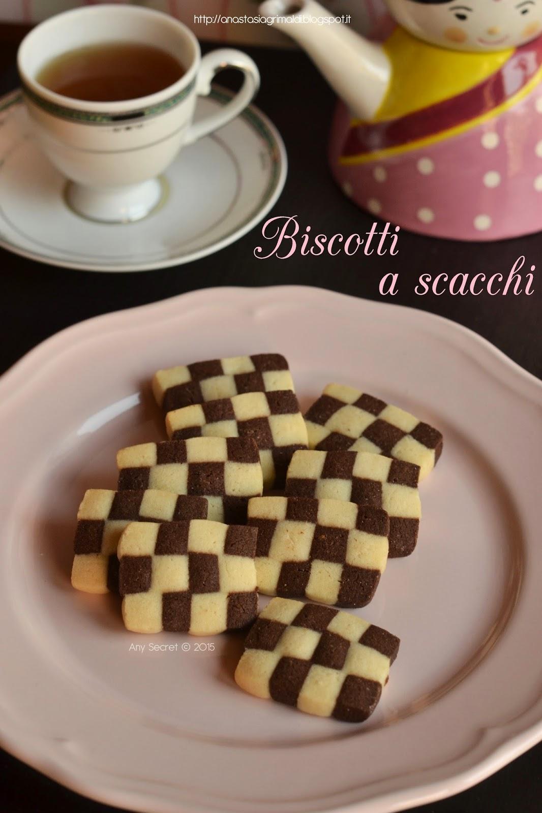 biscotti a scacchi: i biscotti arlecchino per carnevale!