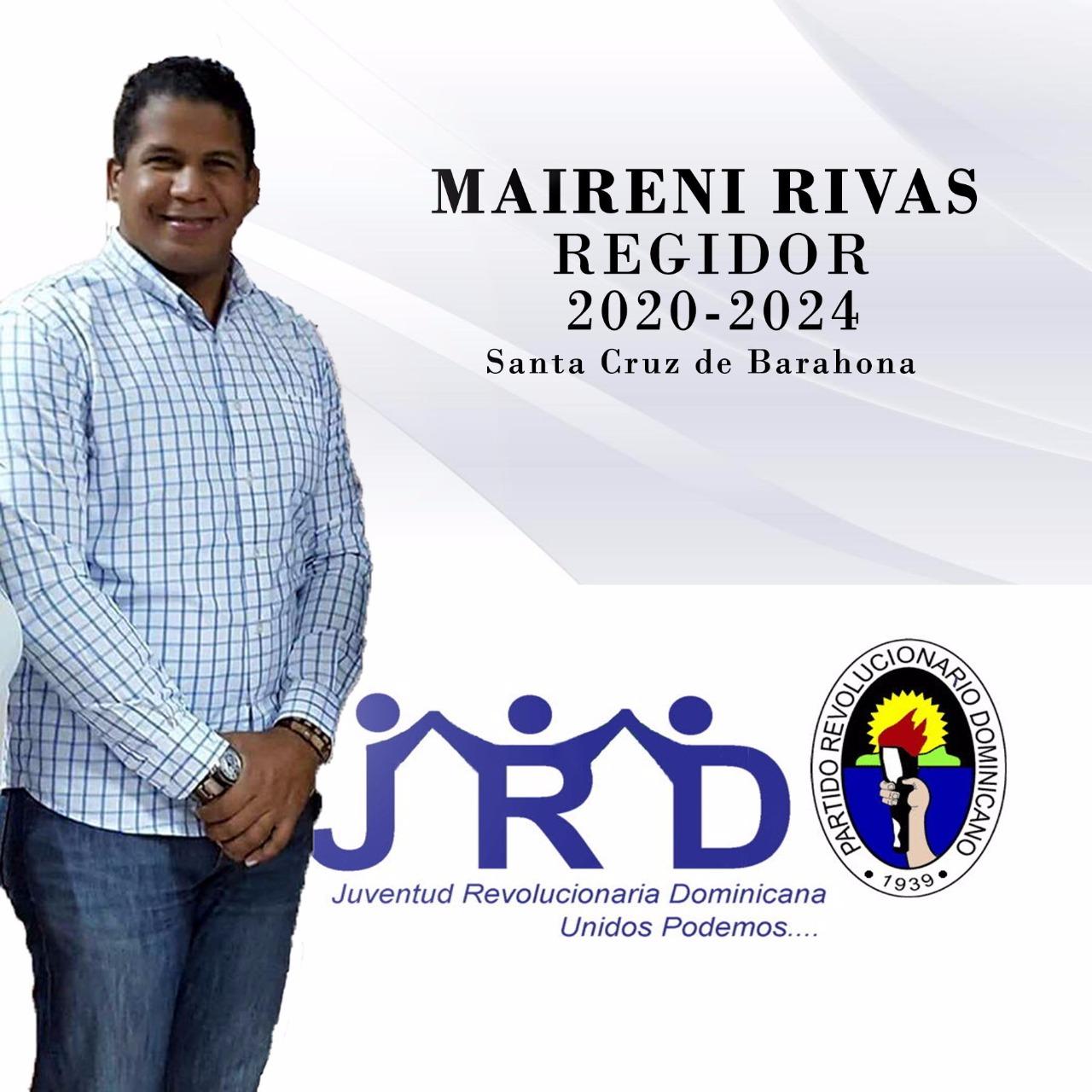 MAIRENI RIVAS REGIDOR 2020- 2024