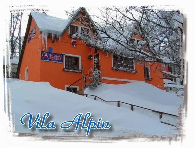Vila Alpin in anul 2000