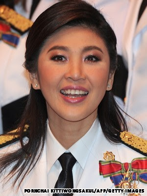 Yingluck Shinawatra, PM Perempuan Termuda