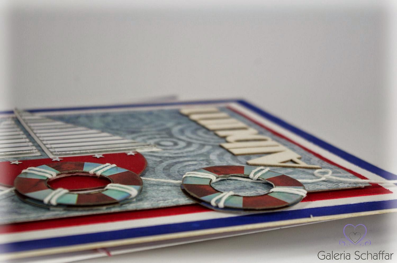 łódeczka z papieru album scrap craft hobby wrocław galeria schaffar