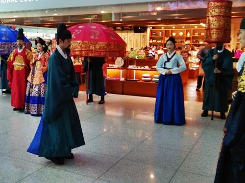 インチョン 空港内アトラクション Walk of the Royal Family at Incheon Airport