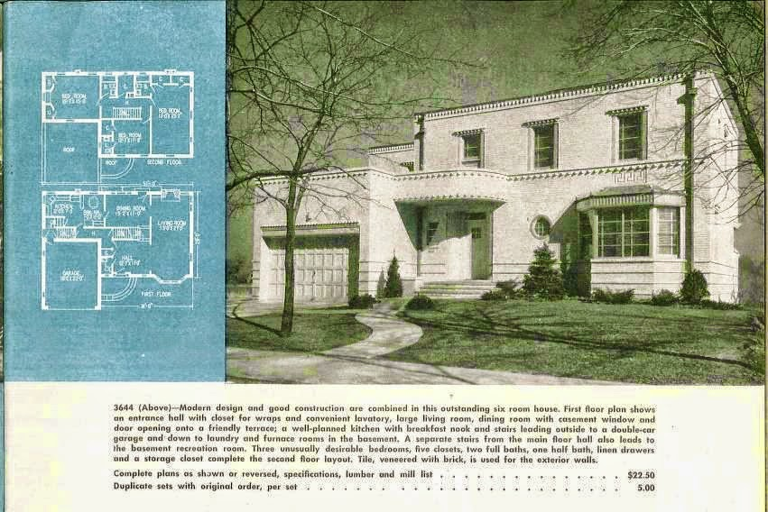 Delightful art deco and art moderne house plans art for Art deco house plans