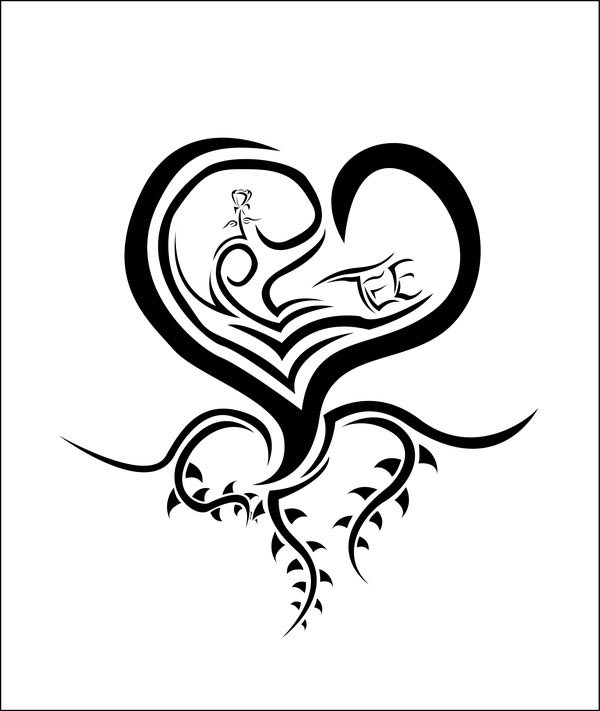 aggiecon getting a hearts tattoos designs free. Black Bedroom Furniture Sets. Home Design Ideas