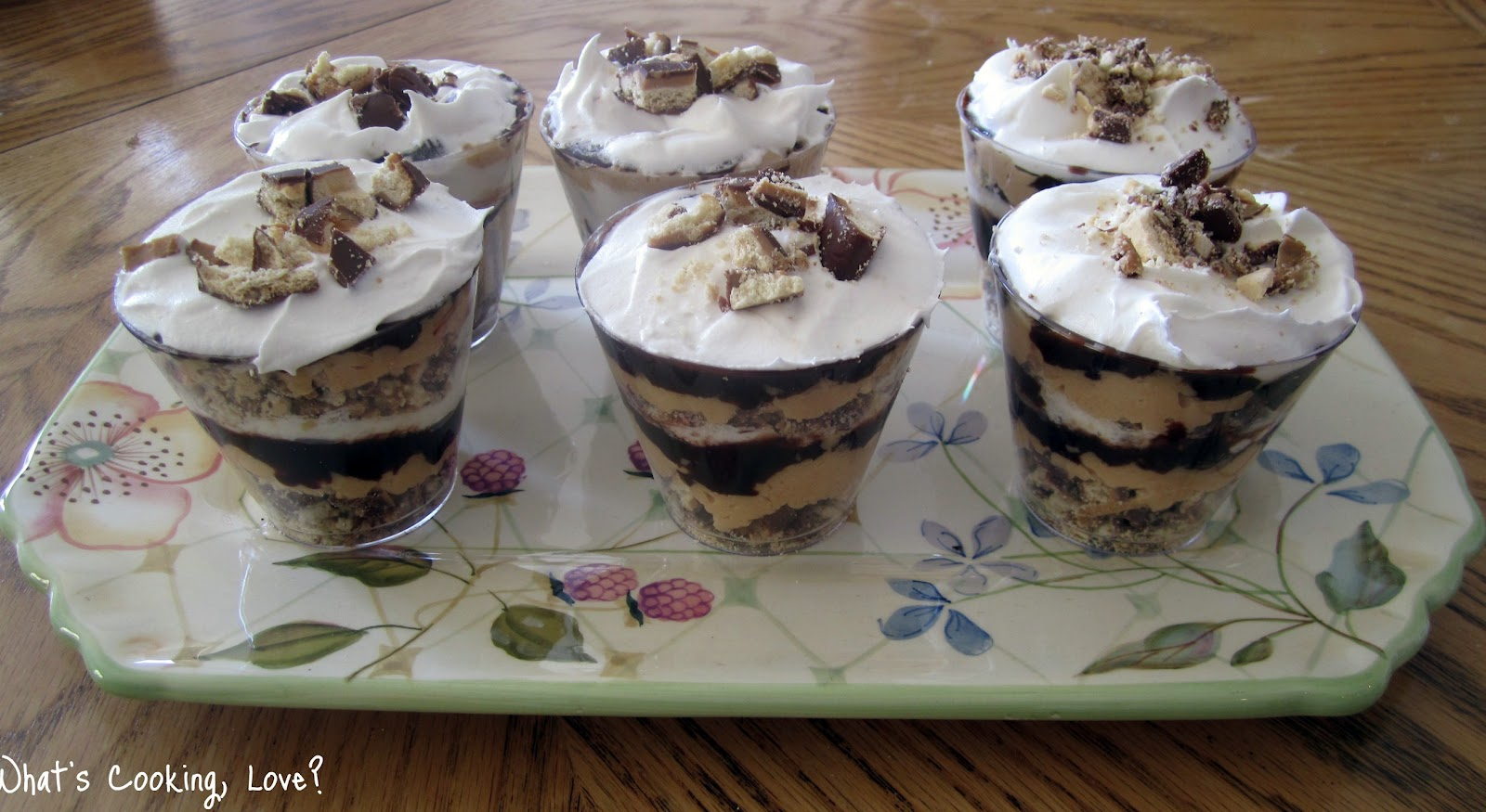 Tagalong Peanut Butter Trifle - Whats Cooking Love?