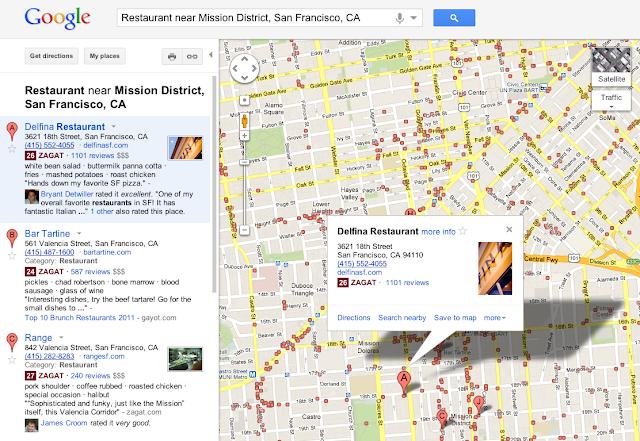 Google Maps Delfina