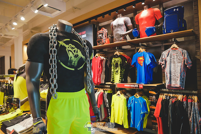 Under Armour Brand Outlet in Mid Valley Megamall - Men's wear with more unique prints