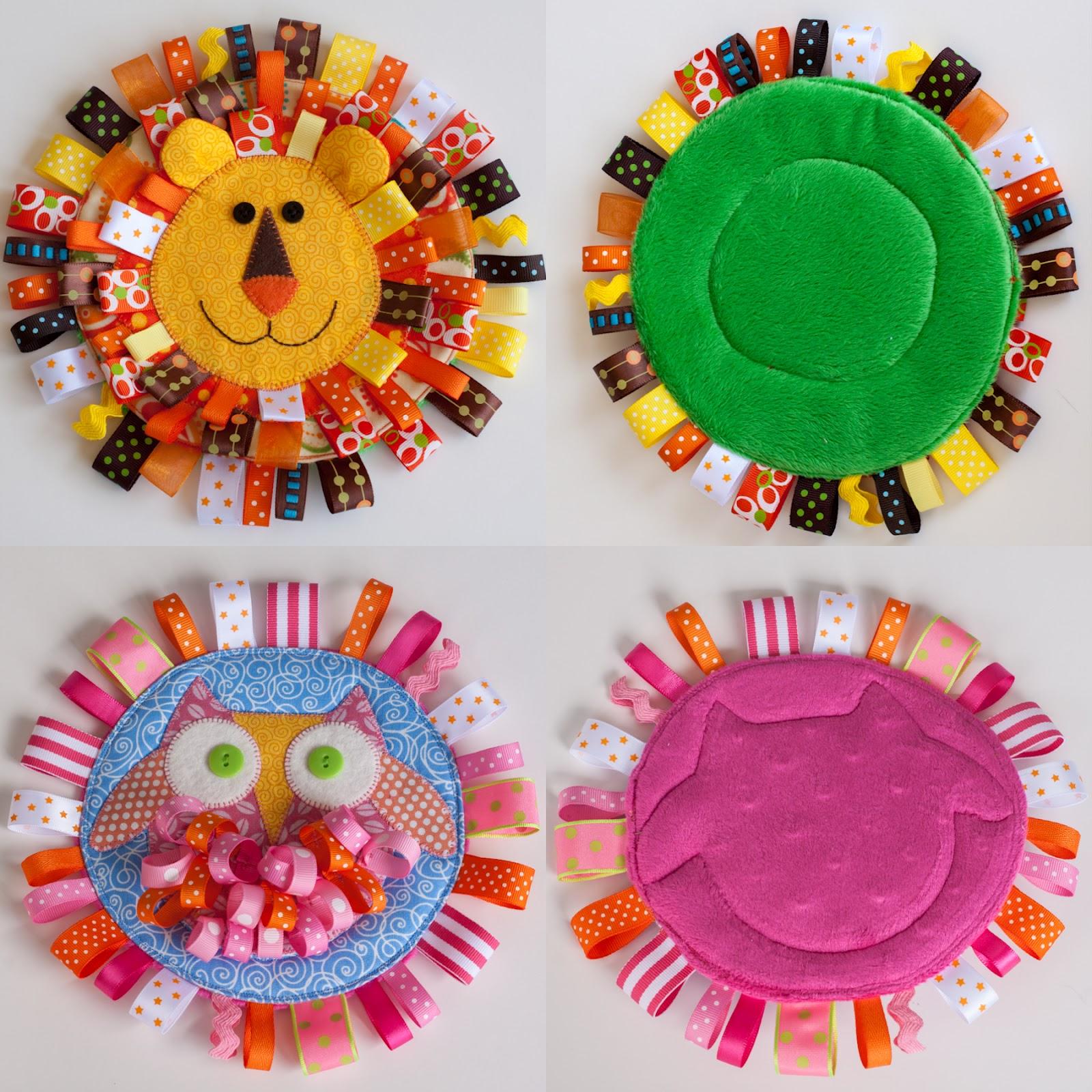 Toys For Sensory : June baby sensory tag toys