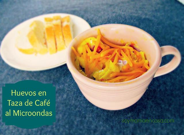 huevo en microondas