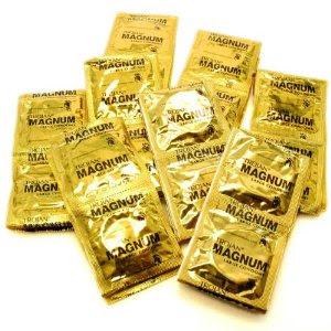 Trojan condom wrappers
