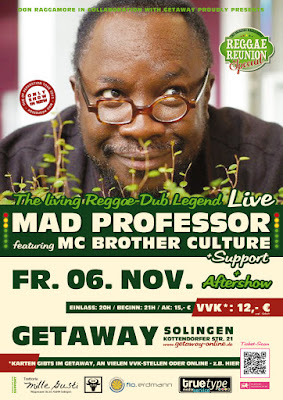Mad Professor feat. MC Brother Culture (live) + Support + Aftershow Party