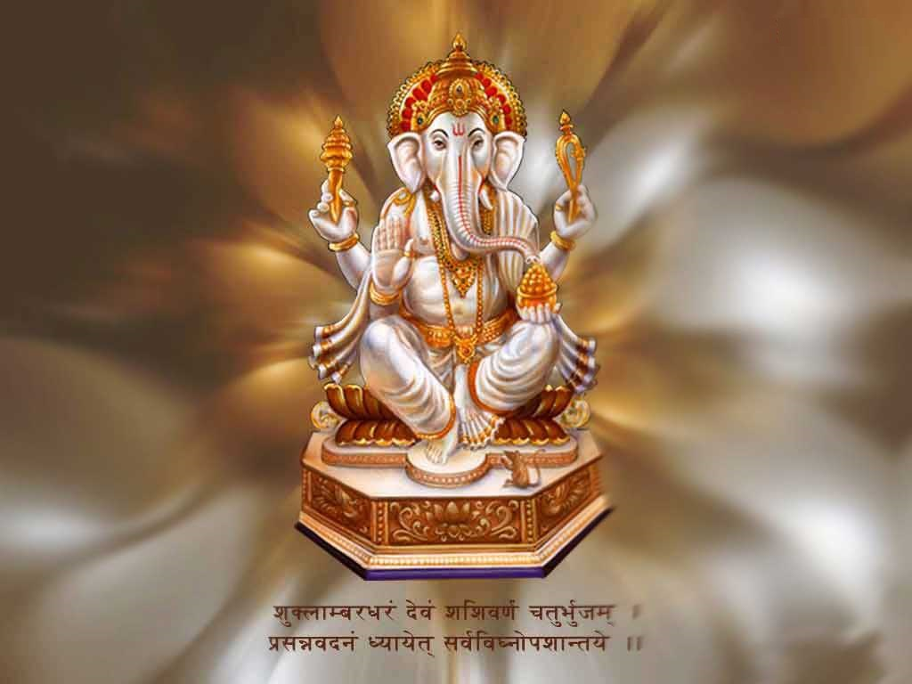 lord ganesha hd wallpapers with quotes