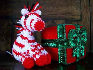Free Zebra Amigurumi Crochet Pattern : 2000 Free Amigurumi Patterns: Peppermint Zebra Free ...