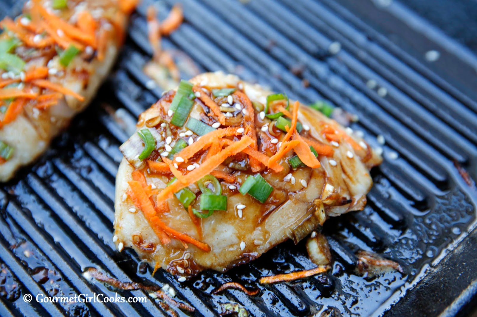 Gourmet Girl Cooks: Grilled Asian Style Wild Alaskan Black Cod