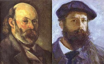 Monet and Cezanne