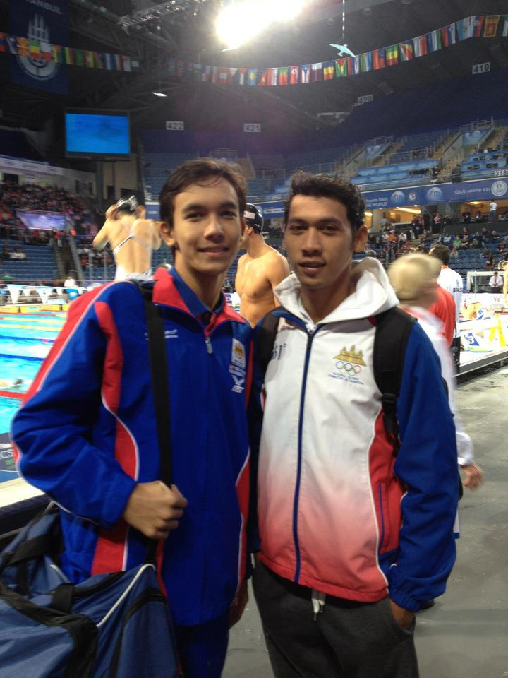 Aquatics Cambodia: Cambodian National Team at World SC ...