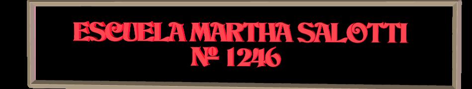 ESCUELA MARTHA ALCIRA SALOTTI Nº 1246