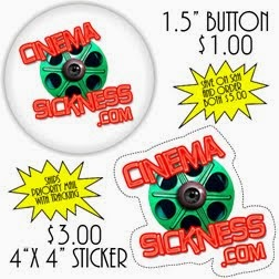 Cinema Sickness Merch