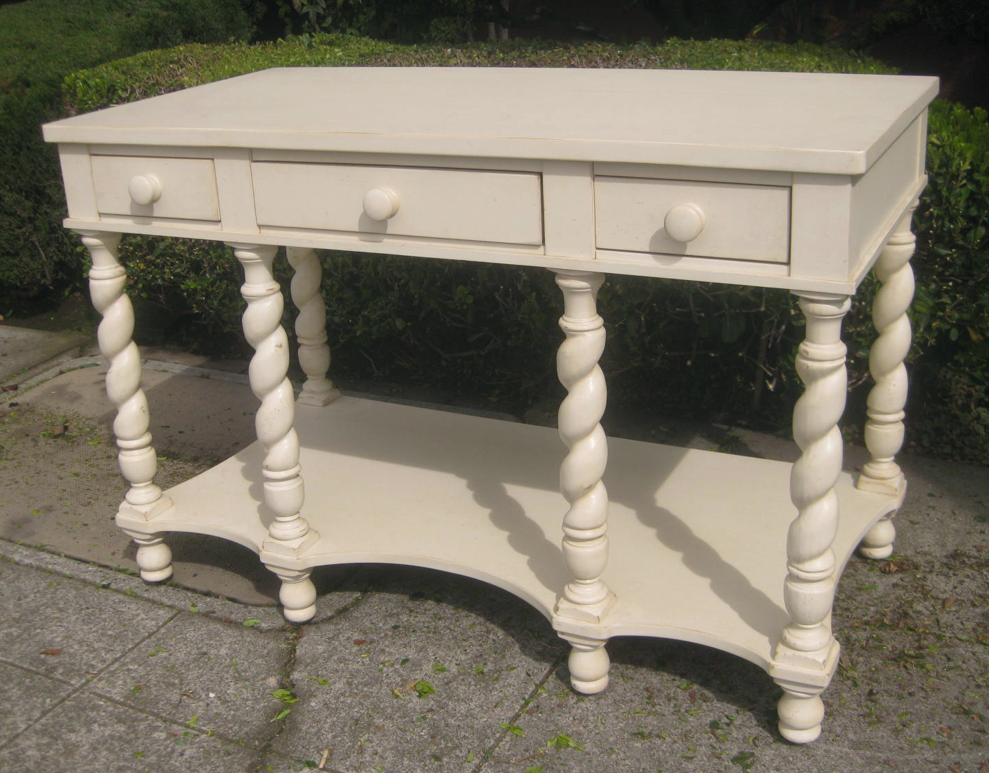 Uhuru furniture collectibles sold italian style - Table console extensible solde ...