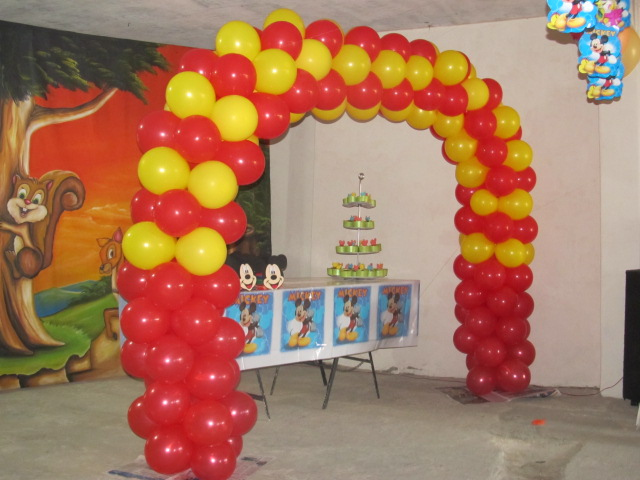 Mickey mouse decoracion fiestas infantiles fiestas for Globos decoracion fiestas