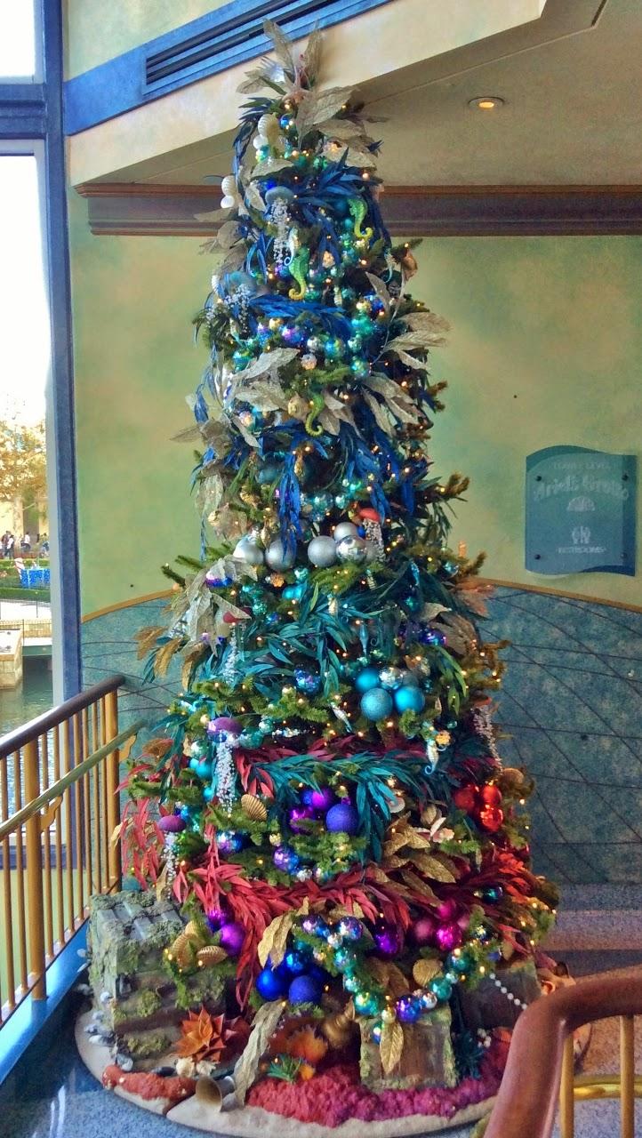 The PNW Mouse Meet Blog: Disneyland Resort Christmas Trees Part 2