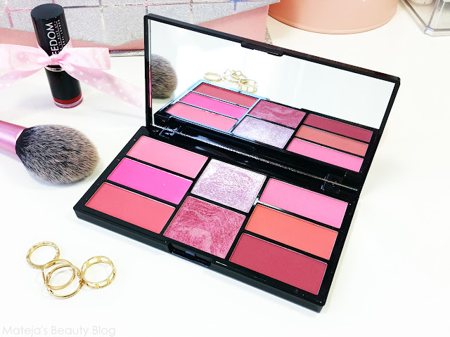 Freedom Pro Blush Palette Pink and Baked