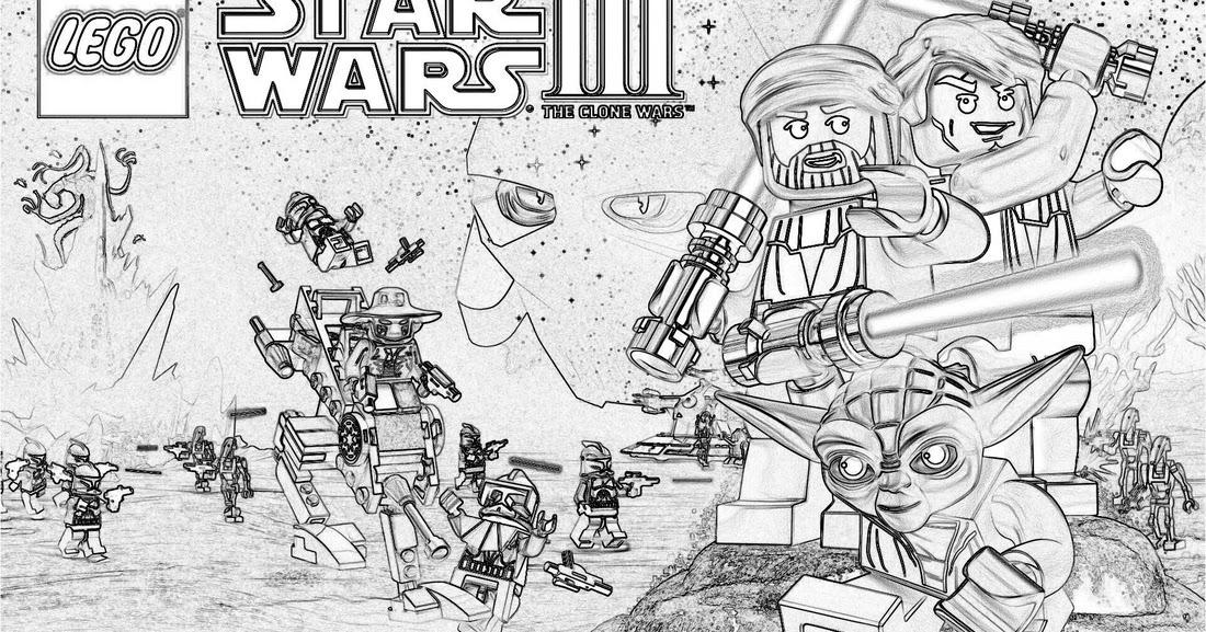 Gratis Lego Ausmalbilder Zum Herunterladen Und Ausdrucken: Ausmalbilder Von Star Wars