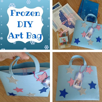 Frozen DIY art bag