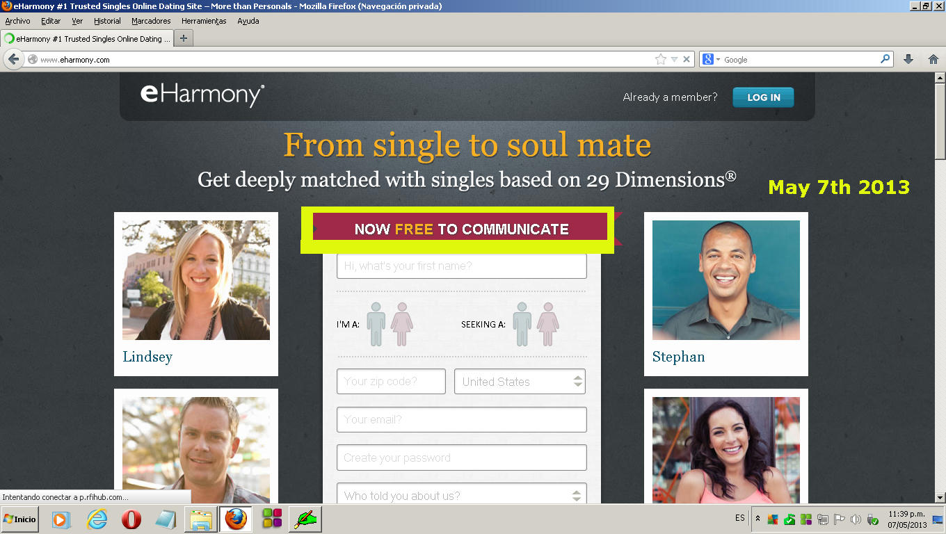 Apr 16,  · Yes, you can get an eharmony free trial if you know where to look and how to read the fine print. There's always fine print on any online dating site. eharmony is no different. There's always fine print on any online dating site. eharmony is no different.