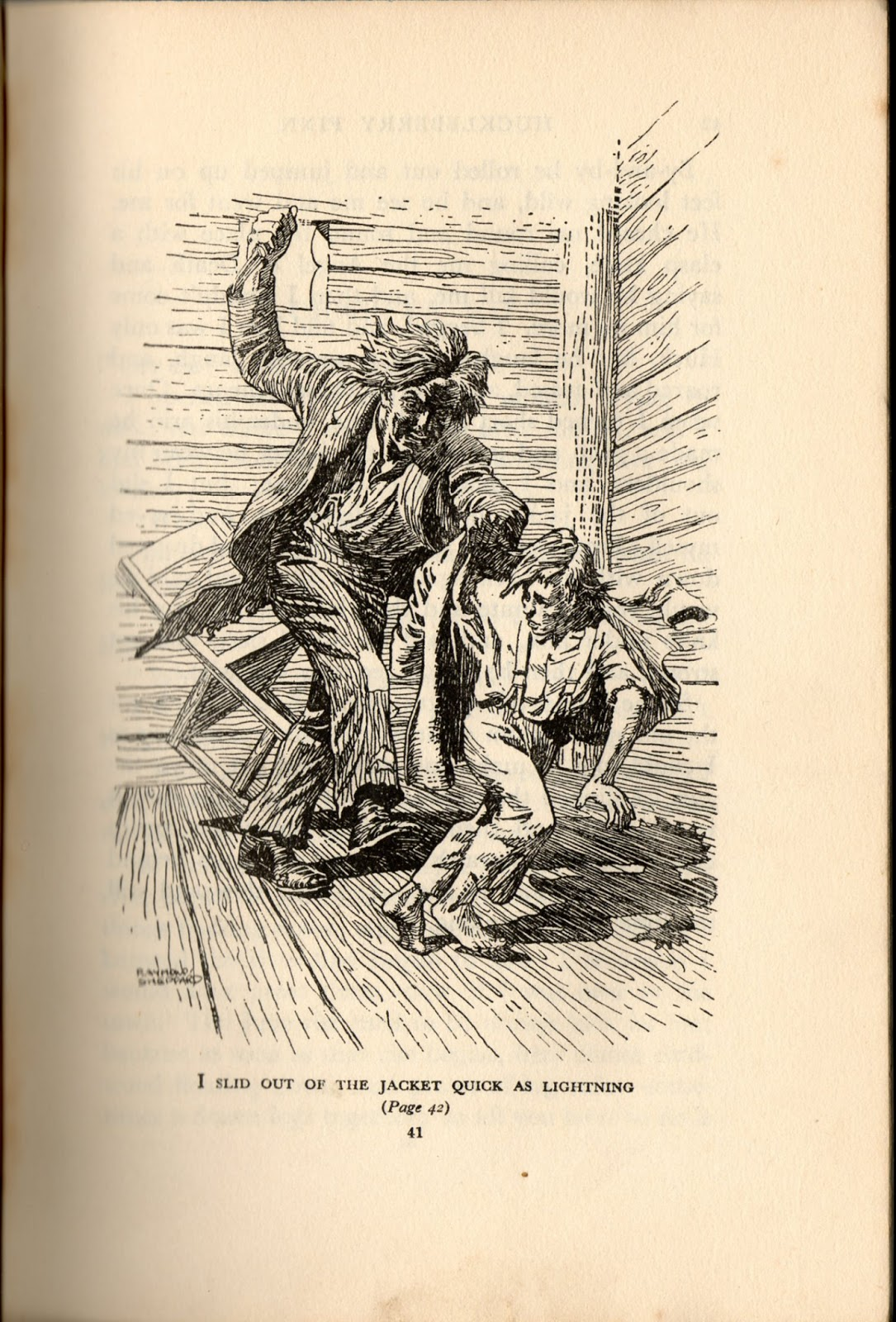 the escape from society in the adventures of huckleberry finn by mark twain Mark twain described the major theme of the adventures of huckleberry finn as a sound heart and a deformed conscience come into collision, and conscience suffers defeat helping a slave to escape.
