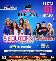 PICANHA DO GENIVAL - FESTA DO TRABALHADOR COM BANDA SEDUTORA.