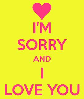 im sorry i love you