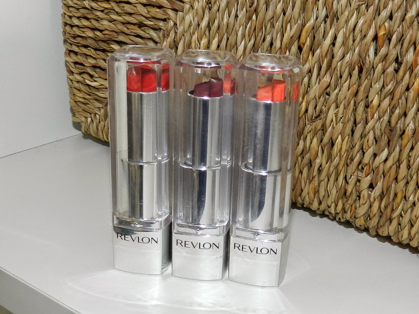 Life Is Worth The Fight Lipstick Spree Revlon Ultra Hd No840 Pointsettia I Brought 6 Lipsticks Altogether They Were 3 For 2 But Are Of Different Formulations We Have Lip First And Then