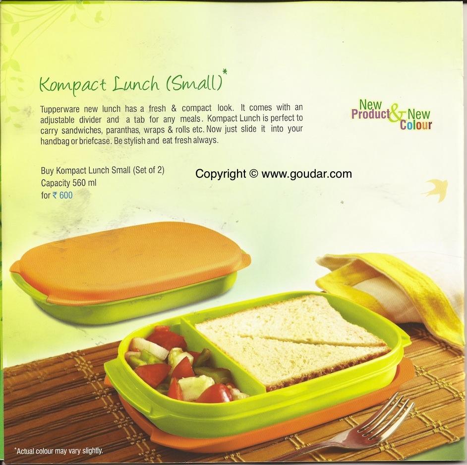 mahiti - Tupperware : Tupperware India Flyer July 2012