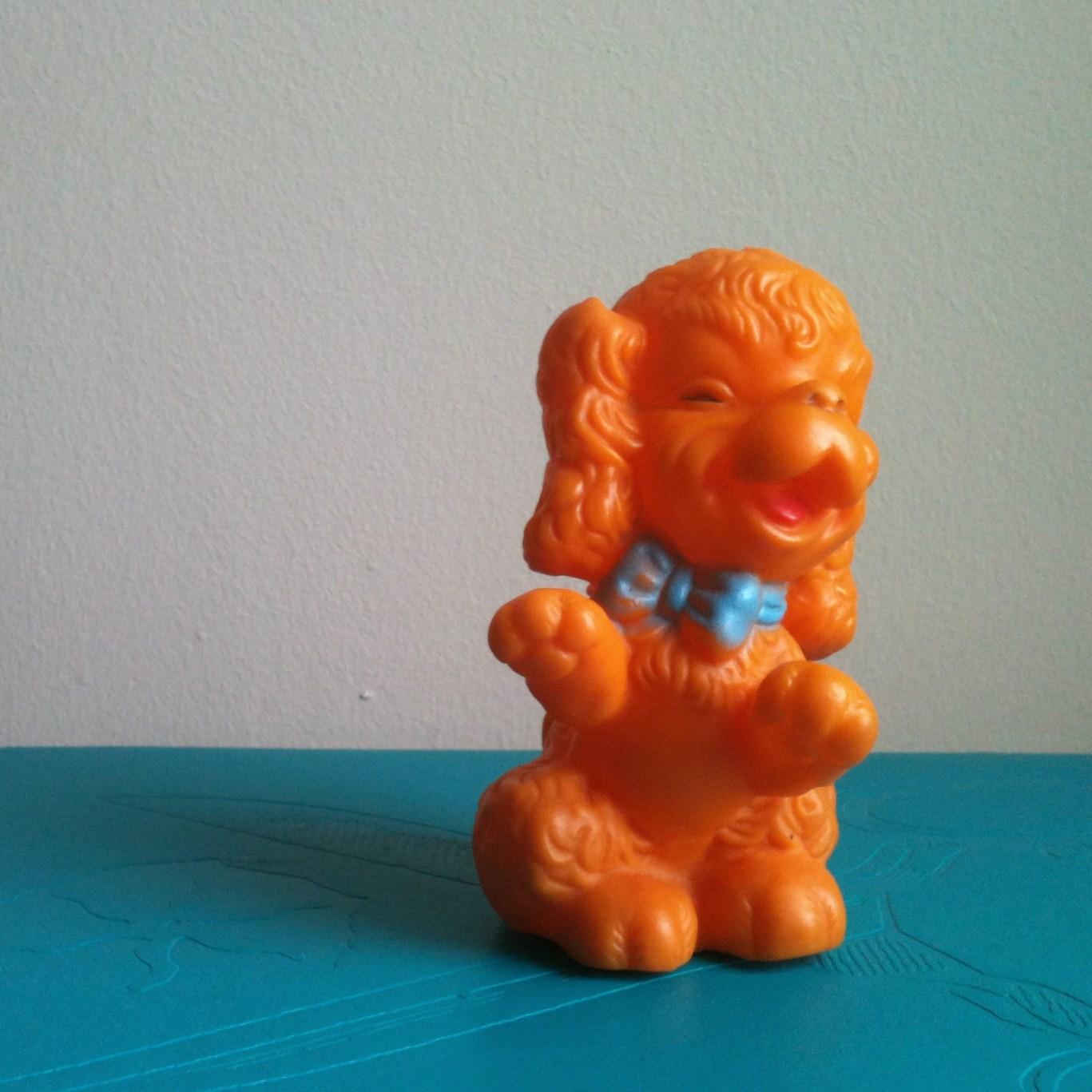 Hard Rubber Dog Bone Toy