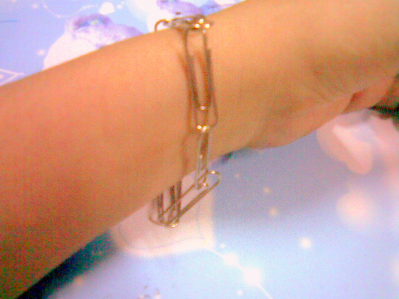 diy bangle,idea clip