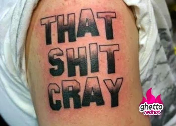 ghetto tattoos