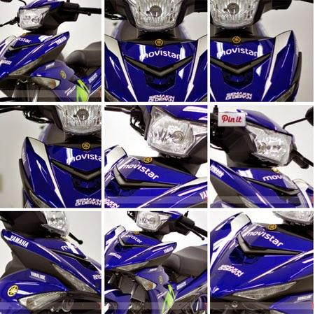 gambar Jupiter MX King 150 livery MotoGP