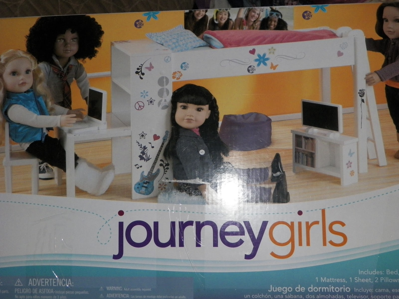 Perfectly Unseelie Journey Girls Bedroom Set Review