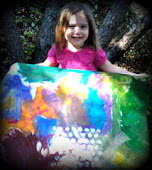 My youngest little artist, Sadie