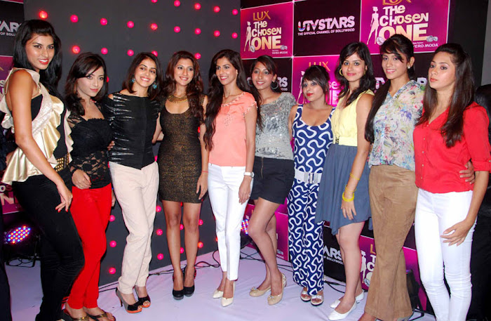 genelia at the launch of utv stars the chosen one latest photos
