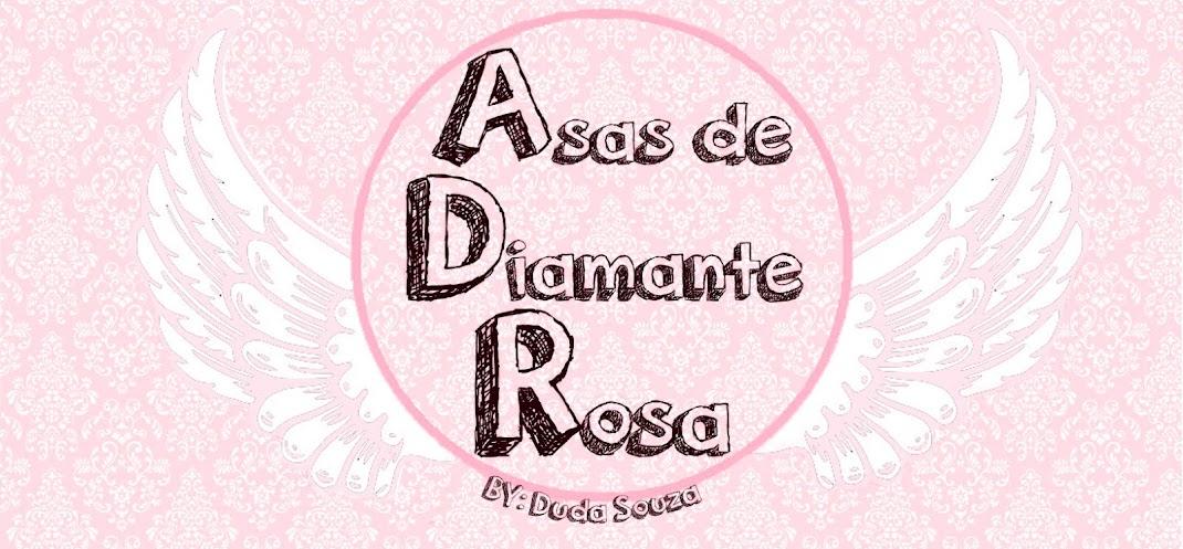 Asas de Diamante Rosa
