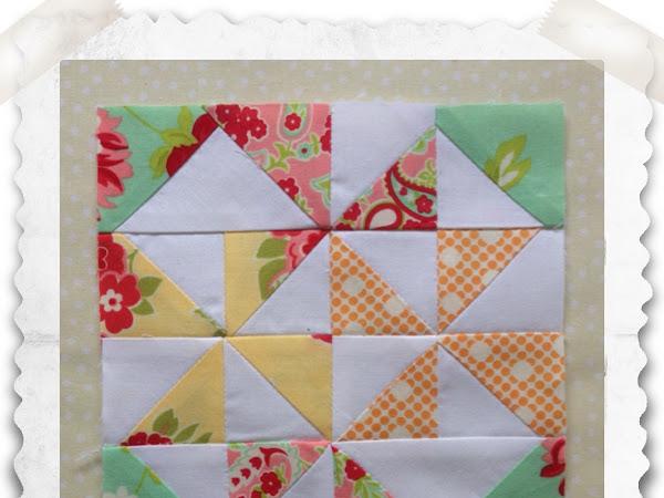 Chatelaine- Free BOW Sampler Quilt Block 46