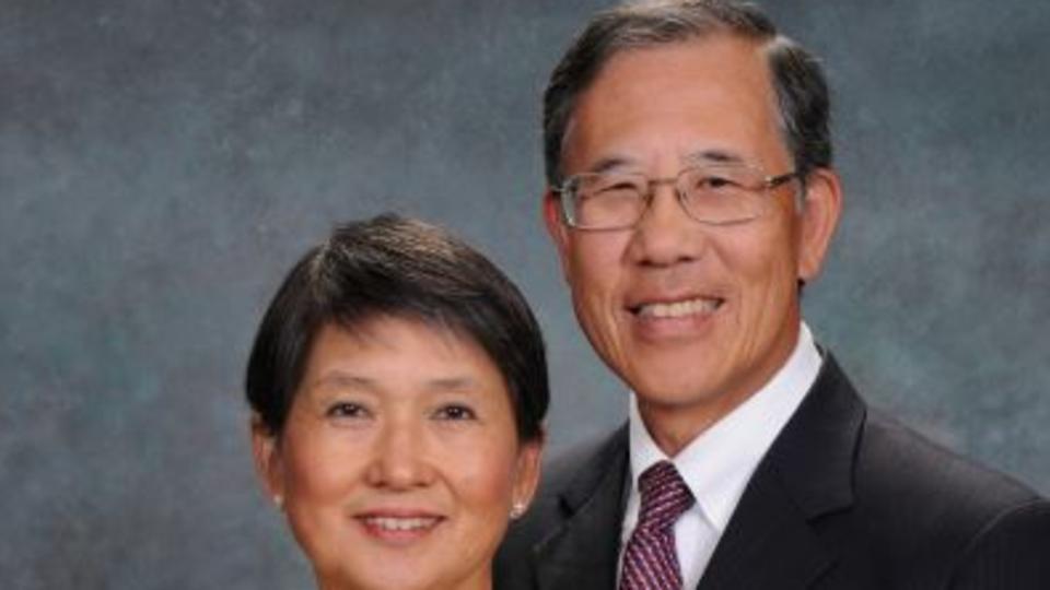 President & Sister Maurice Lam