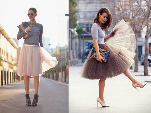 faldas de tul