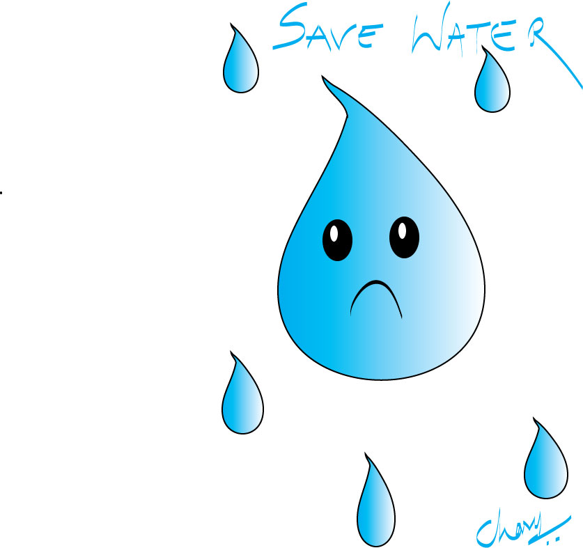 chumma draw save water save water