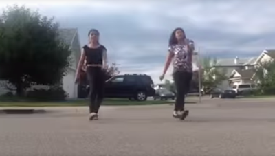 See how these girls show off their talent to the world