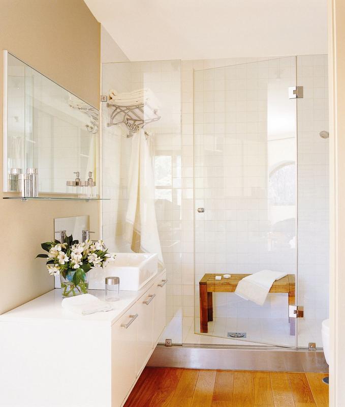 Baño De Lujo Pequeno: mão, e sou de opinião que devem ser claros para facilitar a higiene