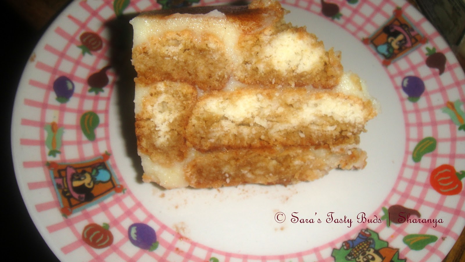 SARA'S TASTY BUDS: Tiramisu - Eggless and Alcohol free