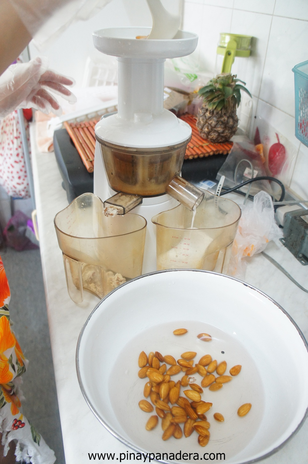 Almond Milk In Slow Juicer : Pinay Panadera s Culinary Adventures: Kath s Nutritious Homemade Almond Milk